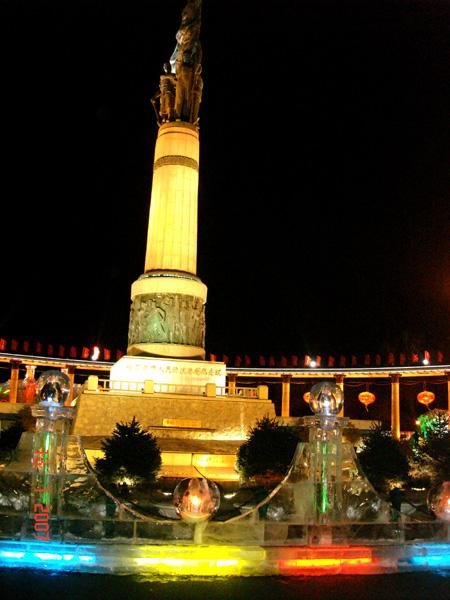 防洪纪念塔(哈尔滨的标志性