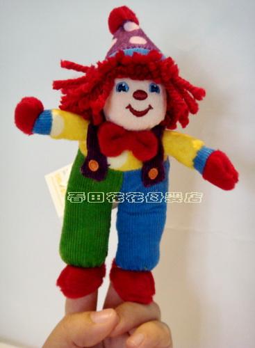 【超低特价】金宝贝gymboree小丑系列玩偶/金宝贝育儿