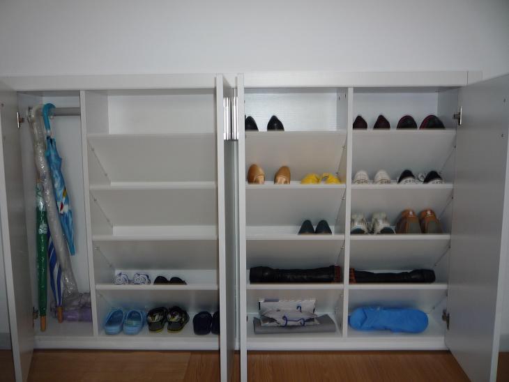 鞋柜内部结构 鞋柜内部结构图 鞋柜内部结构