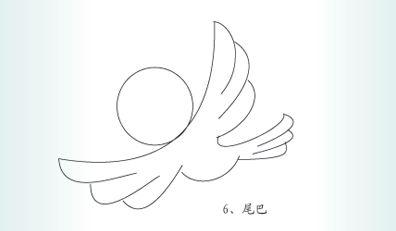 > 简笔画,怎样画小鸟.