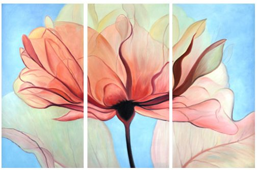 深圳大芬村油画现代中国油画作品欣赏,无框画,定做或批发