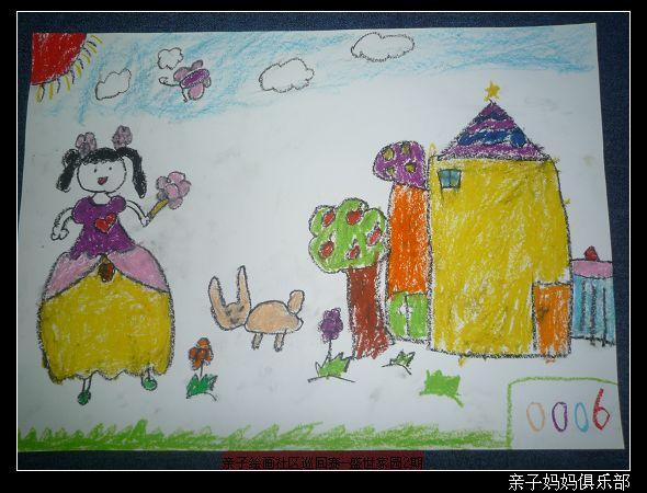 12.27 平安 社区 美丽家园 儿童 绘画 巡回赛 作品