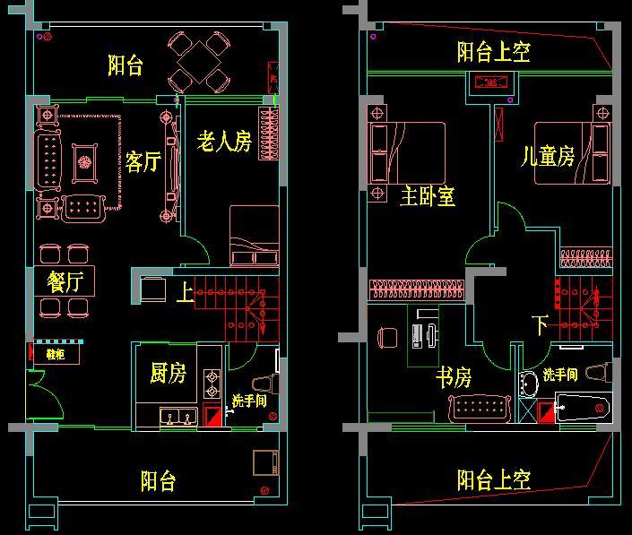 二楼放空调的位置应该可以敲掉,把空调放两边去,窗户移