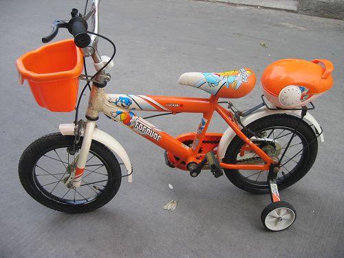 > 二手14寸儿童自行车低价出