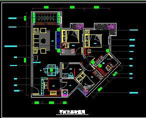 先把平面布置图传上来 -信义六期溢芳园B05户型施工进行时 深圳房地高清图片
