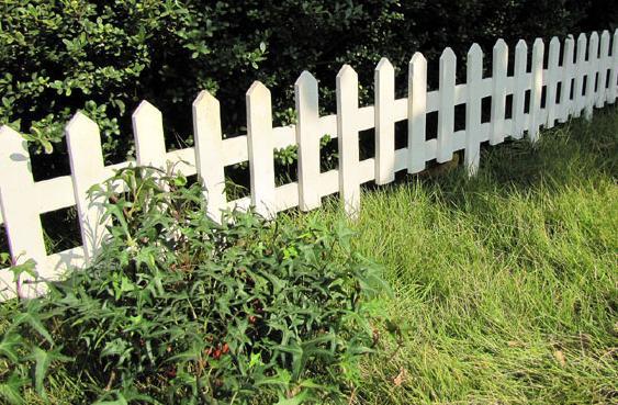 我的白色木栅栏木篱笆不要了
