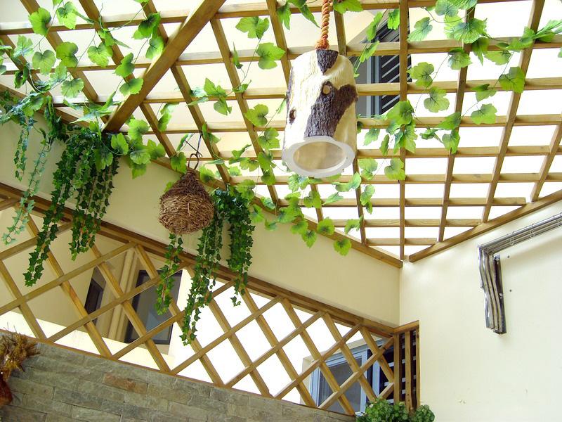 花架,木地板