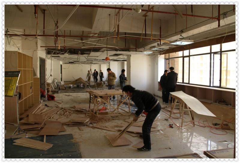 室内装修工人施工图