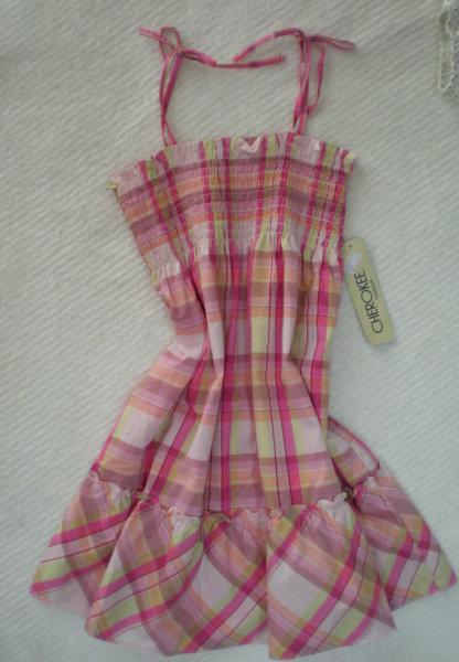 15米狂清还有3条适合2岁、3岁左右女童穿着的吊带连衣裙高清图片