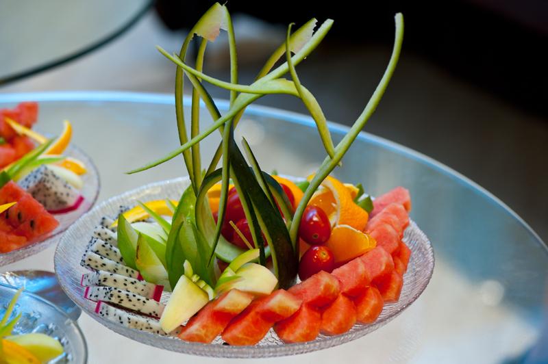 【五园社庆典活动】水果拼盘创意设计大赛和吃西瓜