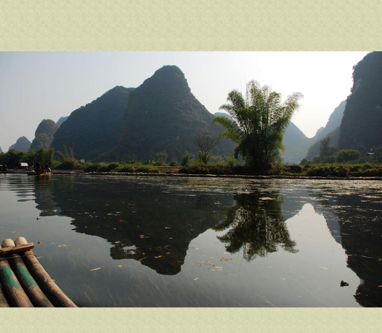 桂林漓江风景扑克