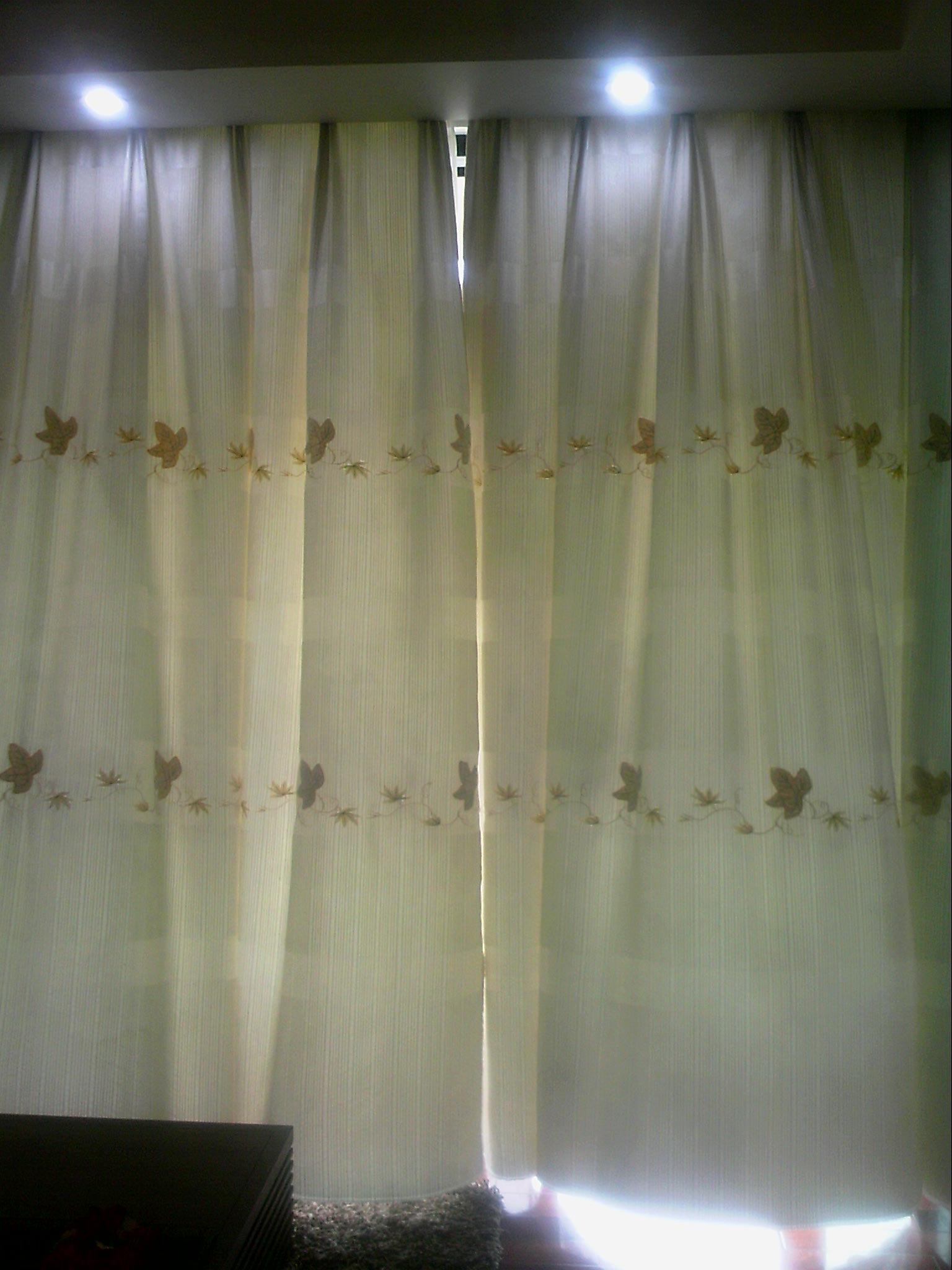 福田景田转客厅房间共四套窗帘